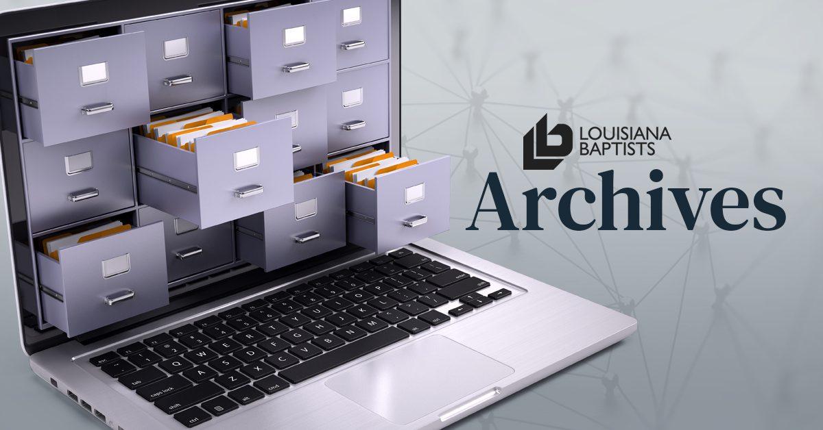 Louisiana Baptist's Archives